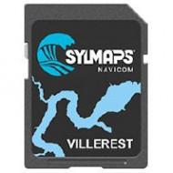 Cartographie électronique SYLMAPS Lac de Villerest