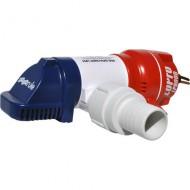 Pompe de cale manuelle immergée 12V RULE LoPro 900