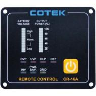 Panneau de commande à distance 12/24V COTEK