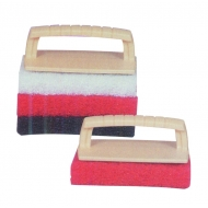 Kit tampon abrasif (fmc)+ poignée