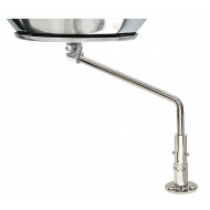 Fixation inox sur pont MAGMA pour barbecue Marine Kettle