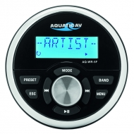 Wired remote control with LCD for Aquatic AV car stereo