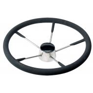 Volant inox noir Ø 400 mm TAURUS