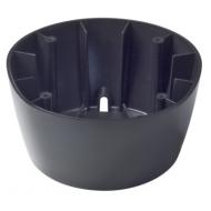 Fûts pour compas noir sur console ou colonne de barre à roue