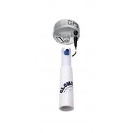 Rallonge en aluminium laqué blanc pour antennes GPS RA129-30 Longeur  30 cm