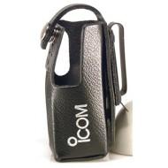 Housse cuir avec clip pince métal pour VHF IC-M87 ICOM