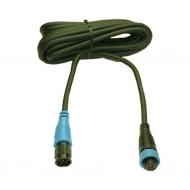 Câble extension 4 m entre capteur prise 6 broches et appareil prise 6 broches pour instrument C.56.