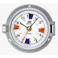 "Thermomètre hygromètre 3"" boîtier chromé Plastimo"