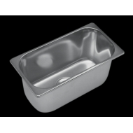 Eviers inox carrés Dimensions ext.: 360 x 360mm
