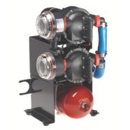 Groupes d'eau sous pression Aqua Jet Duo 12 V débit 40 L/min