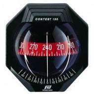 Compas à encastrer noir PLASTIMO Contest 130